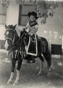 Calamity Sandra, age 4 1960