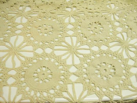 Pinwheel motif detail
