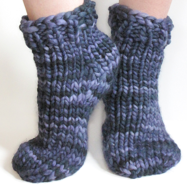 Free Super Bulky Sock Pattern and other knitting projects I ve completed St...