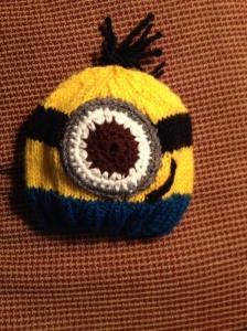 Baby Minion Hat